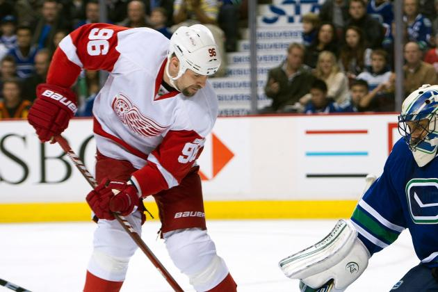 Tomas Holmstrom: 'It's Playing in Detroit or Nowhere Else'