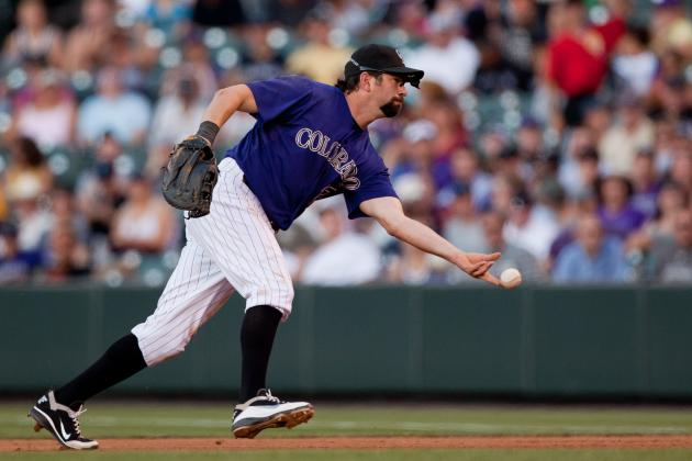Rockies Call Up Double-a Prospect Josh Rutledge, Send Todd Helton to DL