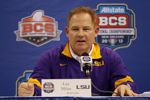 LSU Football: Why Les Miles Is SEC Coach Under the Most Pressure in 2012
