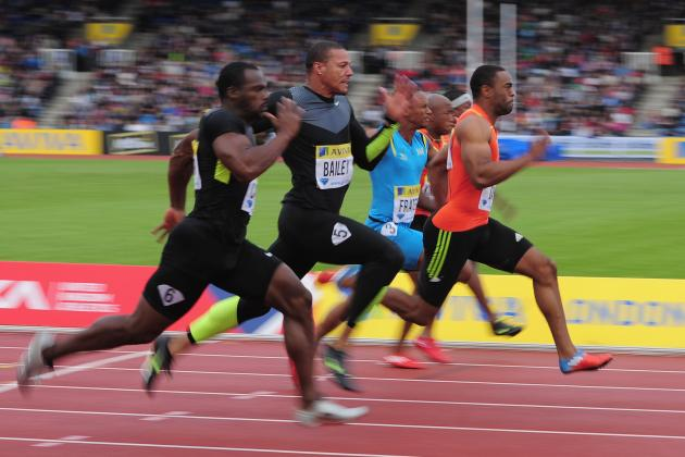 US Olympic Track and Field: Tyson Gay Races to 100 Win in London Prelude