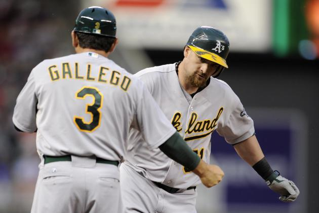 Gomes Is Grand as the A's Move over .500 with 6-3 Win over Minnesota