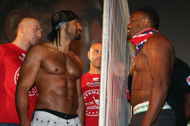 Haye vs. Chisora: Intense Rivalry Will Lead to Epic Clash in London