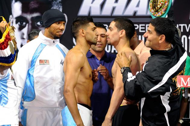 Amir Khan vs. Danny Garcia: Live from the Mandalay Bay in Las Vegas