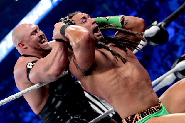 WWE Money in the Bank 2012: Will Curt Hawkins and T-Reks Get Revenge on Ryback?