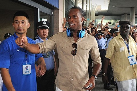 Drogba Wants Terry and Lampard to Join Him at Shanghai Shenhua
