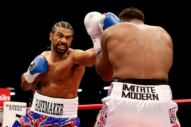 David Haye and Dereck Chisora Show Us There's Life in Heavyweight Boxing Yet