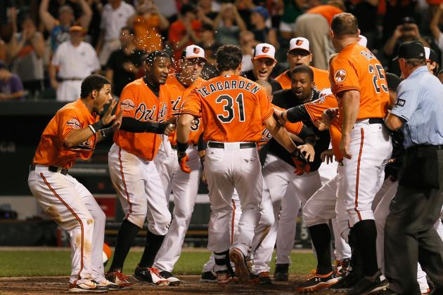 Teagarden's Walk-off Homer in 13th Powers O's