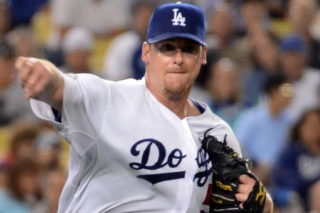 Chad Billingsley Scratched from Start