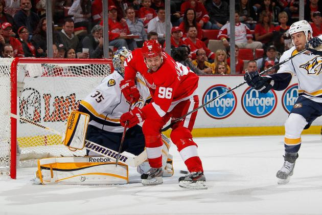 Detroit Red Wings or Bust: Has Tomas Holmstrom's Tenure in Hockeytown Ended?