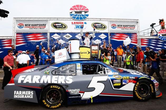NASCAR Live Blog: Lenox 301 at New Hampshire