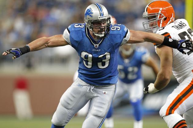 Detroit Lions' Kyle Vanden Bosch Set for Another Big Season