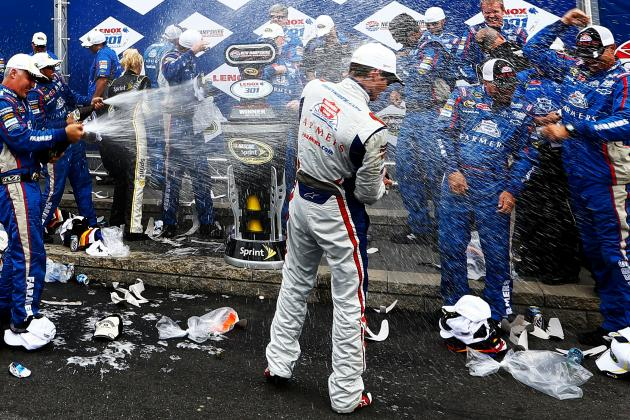 NASCAR: Kasey Kahne Wins at New Hampshire After Denny Hamlin's Pit Road Miscue