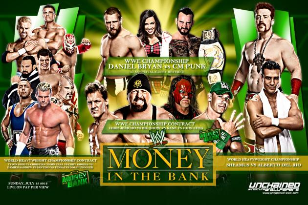 WWE Money in the Bank 2012 Live Streaming: How and Where to Watch the PPV Live