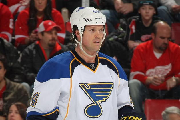 NHL Free Agency 2012: Could Jason Arnott Be the Top-Line Center Toronto Needs?