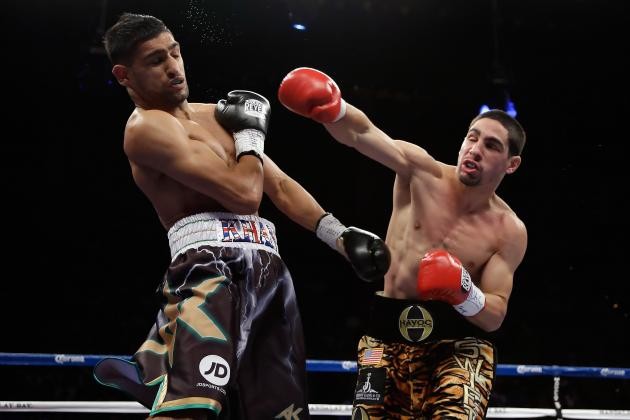 Amir Khan vs. Danny Garcia: Upset TKO Proves Swift Is Real Deal