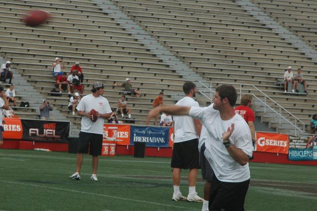 Arkansas Football: Tyler Wilson Impresses at Manning Passing Academy