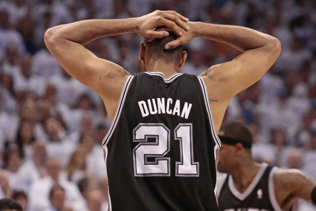 NBA Free Agency: Tim Duncan Re-Signs with Spurs on 3-Year Deal