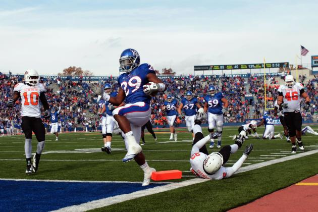 Preseason College Football Rankings: KU's Schedule Stacked with Top 25 Foes