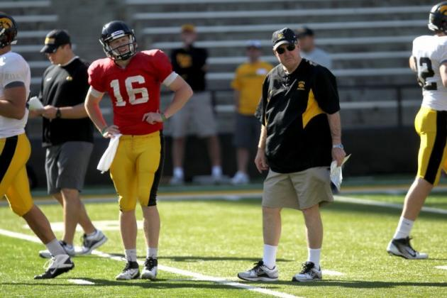 Iowa Hawkeyes Football: Projecting Offensive Stats for 2012 Hawks