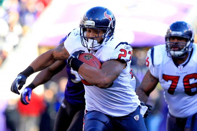 Fantasy Football 2012 Rankings: Top 40 Running Backs