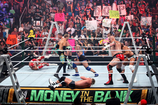 WWE Money in the Bank 2012 Results: SmackDown MITB Showcases WWE's Future