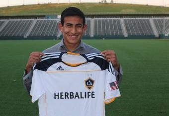 LA Galaxy Home Grown Player Jose Villareal made his league debut on Saturday against the Portland Timbers.