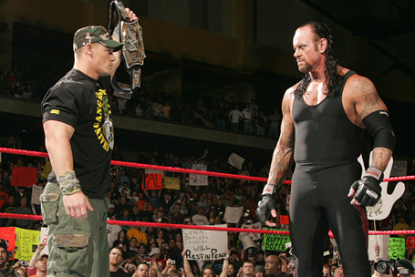 John Cena vs Undertaker: The Best Way to Do It