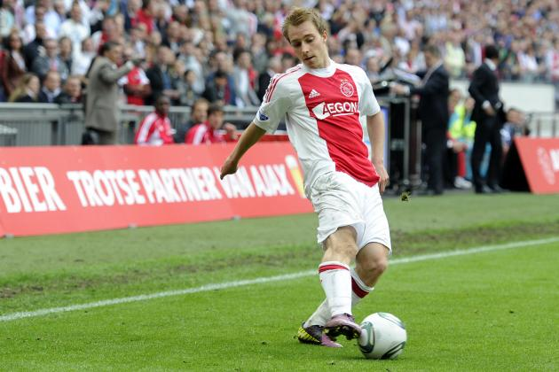 Christian Eriksen: Latest Transfer News for the Ajax Midfielder