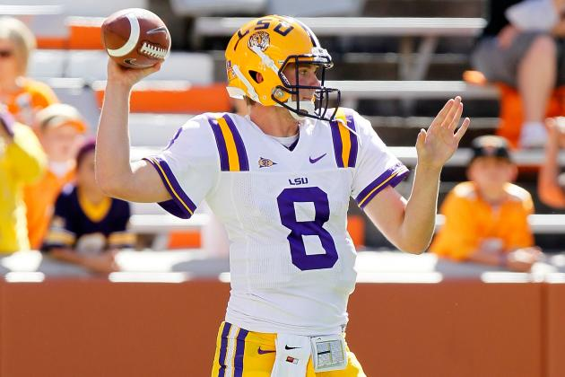 LSU Football: Zach Mettenberger at QB Means It Will Be Harder to Beat Alabama