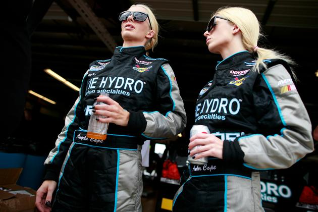 NASCAR's Blonde Twins: Are Amber and Angela Cope Serious Racers?