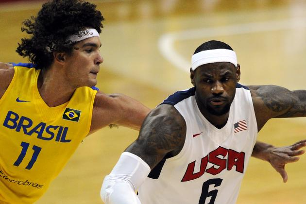 USA vs. Brazil: Lack of Length Will Continue to Be Team USA's Achilles' Heel