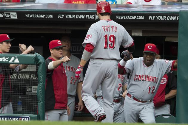 Joey Votto's Injury Leaves Cincinnati Reds Without a .300 Hitter