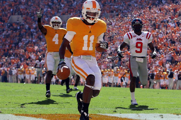 2012 Biletnikoff Watch List: Tennessee WRs Headline SEC Members
