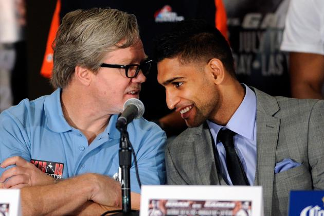 Are Amir Khan and Freddie Roach About to Split?