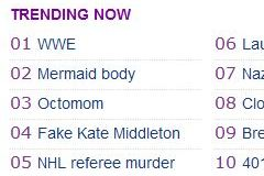 WWE Trending Now on Yahoo, Due to Investor Information