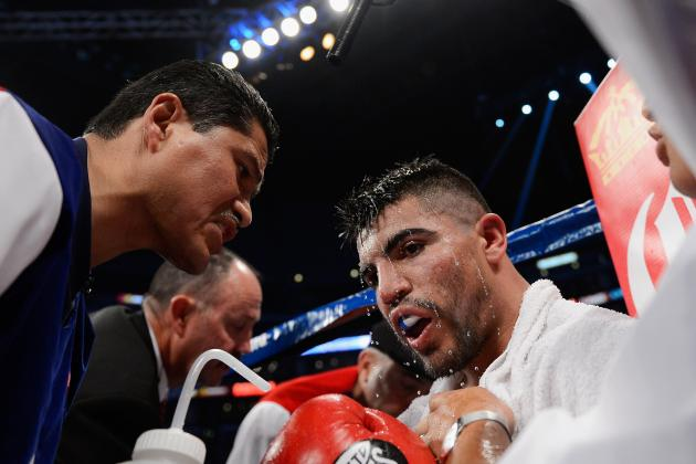 Garcia Says Trust Is Gone, Parts Ways with Victor Ortiz