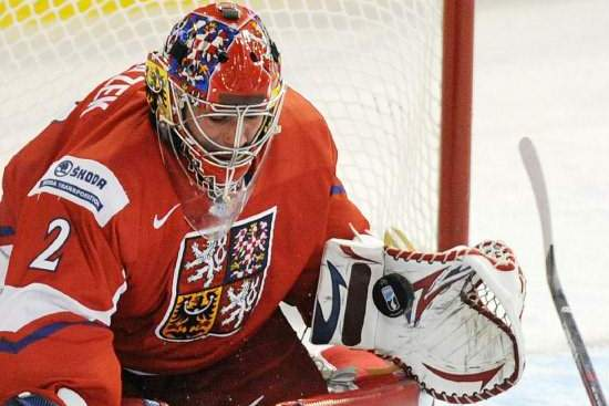 Red Wings Prospect Petr Mrazek Has Same Fire to Win as Dominik Hasek