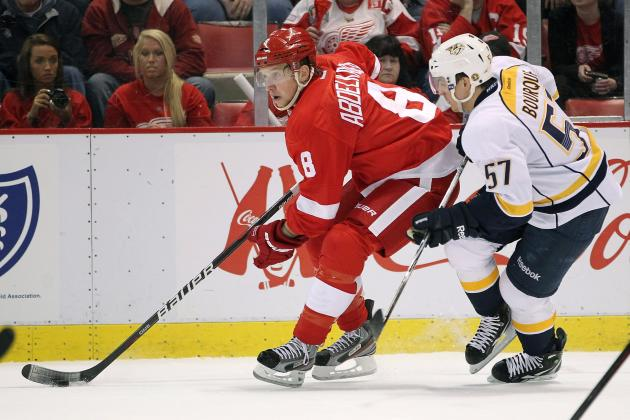 Deals Coming Soon for Red Wings' Justin Abdelkader, Kyle Quincey