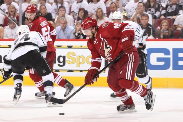 Red Wings Continue Waiting on Decision from Shane Doan
