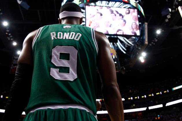 Boston Celtics' Rajon Rondo Is NBA's Most Underrated Point Guard