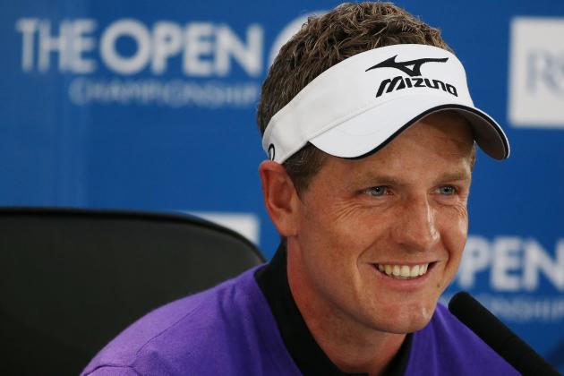 British Open 2012: Luke Donald Needs to Earn His Top World Ranking