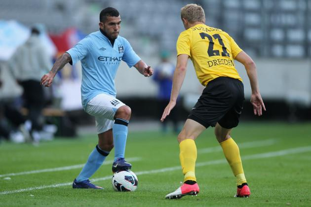 Manchester City Preseason Results: City Held Scoreless, Kompany Leaves Injured
