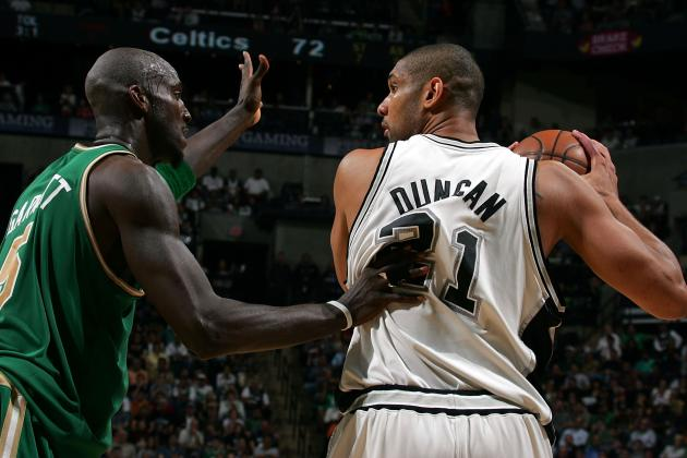 Why Tim Duncan and Kevin Garnett Still Make Their Teams Contenders