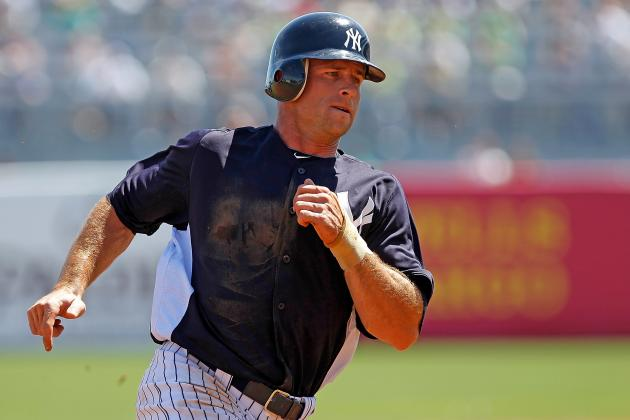 New York Yankees Need to Shut Down Brett Gardner for the Rest of 2012