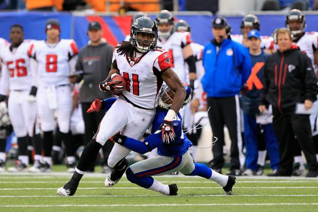 Counting Down the Top 25 Players in the NFC South: No. 11, Julio Jones