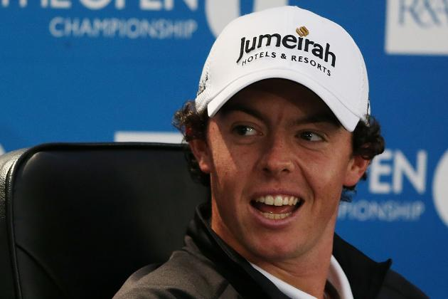 British Open Odds 2012: Rory McRory McIlroy and Players with Best Chances to Win