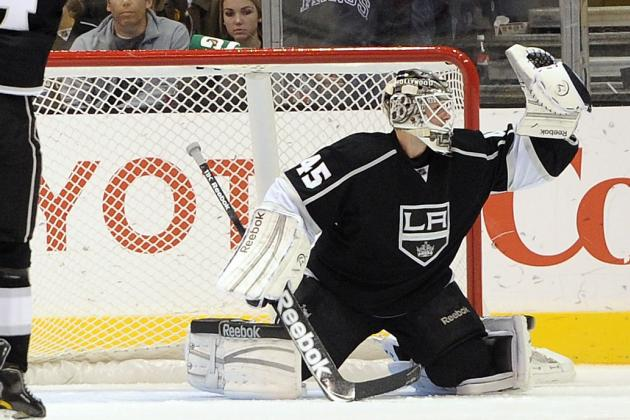 Report: Maple Leafs Make Offer for Los Angeles Kings Goaltender Jonathan Bernier