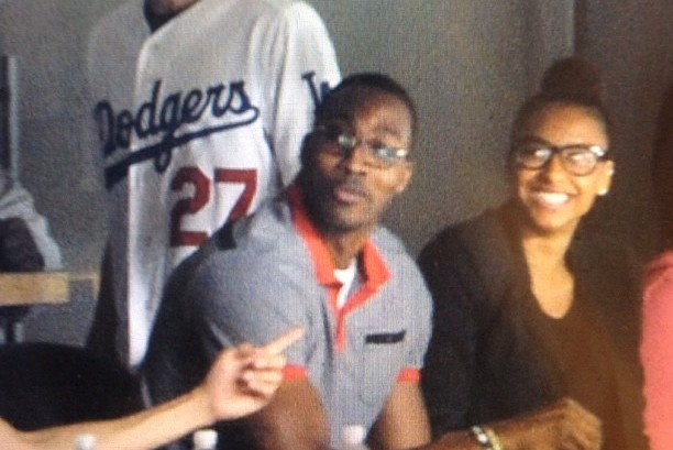 Magic's Dwight Howard Looks Happy Taking in LA Dodgers Game