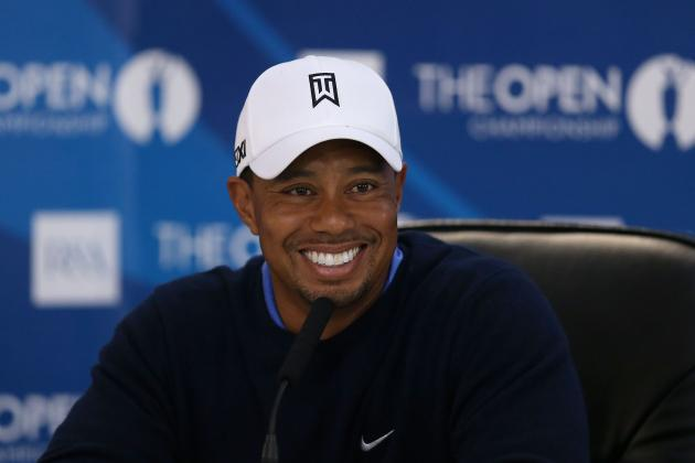 Tiger Woods, the Open Championship and Back Again Debating If He Is Back Again