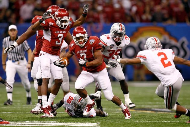 Arkansas Football: Knile Davis Says He's Still Best SEC RB Despite Losing a Year